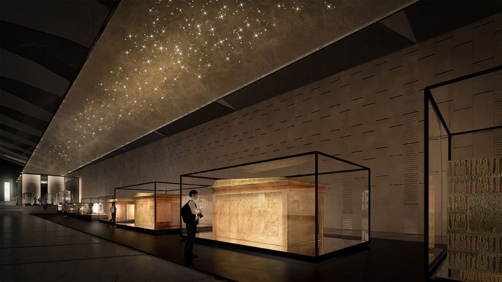 The Grand Egyptian Museum | © ACCIONA Producciones y Diseño