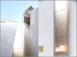Casas Consistoriales y Plaza de la Constitución de Almería | Acceso a plaza entre edificio de oficinas y salón de plenos | © José Ramón Sierra